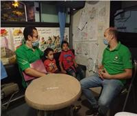 فريق «أطفال بلامأوي»ينقذ طفلين بالدقي وينقلهم لدار رعاية