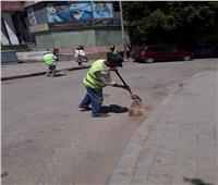 رفع 45 ألف طن مخلفات وقمامة من شوارع الجيزة