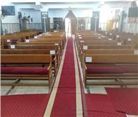إجراءات احترازية مشددة قبل فتح الكنائس بالغربية السبت القادم