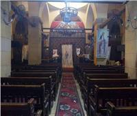 كنيسة العذراء بمسطرد تفتح أبوابها لاستقبال الزائرين
