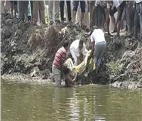 مصرع شاب وطفل غرقا بترعة المحمودية في البحيرة