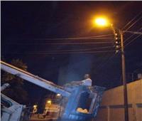 رفع 180 طن مخلفات وقمامة بقرية نفيشة بالإسماعيلية