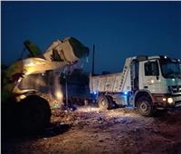 رفع ٦٠ طن قمامة بمدينة المحلة