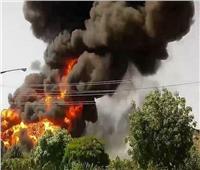 التلفزيون الرسمي: حريق في منطقة صناعية بإيران ولا خسائر بشرية