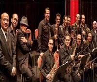 بغدادي بيج باند يعزف موسيقى جاز عالمية ومؤلفات عربية بأوبرا الإسكندرية
