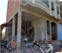 محافظ القليوبية يشهد حملة مكبرة لإزالة المباني المخالفة في بنها