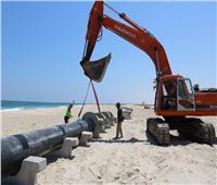 شوشه: الانتهاء من مد 1000 كيلو خطوط مياه بالعريش