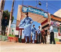 عزل 7 حالات مصابة بكورونا في مستسفياتشمال سيناء