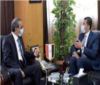 «عبد الوهاب» و«بشارة» يبحثان تعزيز الفرص الاستثمارية بالإسماعيلية