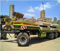 رئيس مدينة المحلة يتابع أعمال تطوير كورنيش شبين