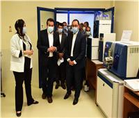 رئيس الوزراء يزور مدينة الأبحاث العلمية والتطبيقات التكنولوجية ببرج العرب الجديدة
