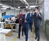 صور| الرئيس التنفيذي لهيئة الاستثماريتفقد التوسعات الجديدة بالمنطقة الحرة بالإسماعيلية
