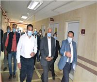 ️عبدالغفار والكردي يتفقدان مستشفى برج العرب الجامعي