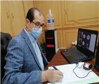 نائب رئيس جامعة الأزهر يبحث مع عمداء كليات الطب الاستعداد للعام الدراسي
