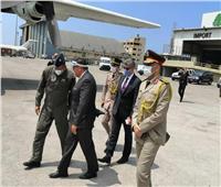 وصول أول طائرة إغاثة من القاهرة إلى بيروت