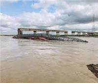 الأمطار الغزيرة تتسبب في ارتفاع منسوب نهر الهان إلي مستوى قياسيٍ