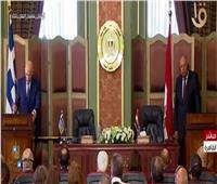 بث مباشر| مؤتمر صحفي لوزير الخارجية سامح شكري ونظيره اليوناني