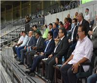 وزير الرياضة يشهد أولي مباريات الدورى المصري العام بعد استئنافه