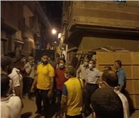صور| محافظ الغربية يوجه بإخلاء محيط 3 منازل آيلة للسقوط