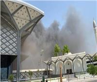 نشوب حريق بمحطة قطار الحرمين في جدة
