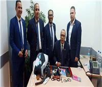 ضبط محاولة تهريب 2 طبنجة وعدد من الأسلحة البيضاء بمطار القاهرة