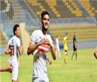 حسام أشرف: سعيد بالمشاركة الأولى.. والزمالك حقق الأهم أمام المصري