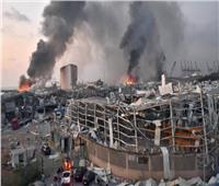 «شارع تغطي أرضه الدماء»... هل هذه صورة دماء ضحايا مرفأ بيروت؟