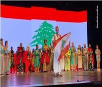 الصور ..أحمد عز ونجوم علاء الدين يقفون مع الجمهور دقيقة حدادا على شهداء بيروت