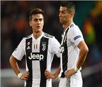 رونالدو وديبالا يزينان قائمة يوفنتوس أمام ليون في دوري الأبطال