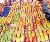 أسعار وأنواع المانجو في سوق العبور السبت 8 أغسطس