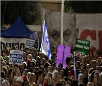 رافعين شعار «انتهى وقتك».. آلاف يحتجون ضد نتنياهو بسبب كورونا وتهم بالفساد