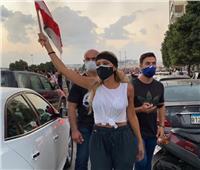 صور  مايا دياب: وطني مقتول.. فقد أنفاسه
