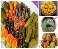 المحشي «رولز رايس» والملوخية «جرين سوب» .. تقاليع جديدة في الطعام المصري