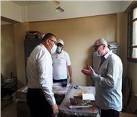 إحالة رئيس وموظفي الضرائب العقارية بقرية في الشرقية للشئون القانونية
