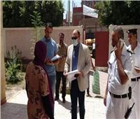 رئيس مركز ومدينة الإسماعيلية يتفقد اللجان الانتخابية بقرية نفيشة