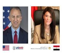 وزيرة التعاون الدولي: توفير 250 جهاز تنفس صناعي من الوكالة الأمريكية للتنمية