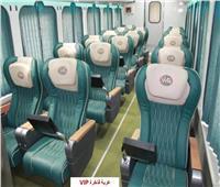 صور| 8 معلومات عن عربات قطارات TOP VIP.. أبرزها رفع سعر التذكرة لـ 375 جنيها