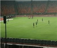 محمد هاني يتقدم للأهلي بالهدف الأولفي مرمى إنبي