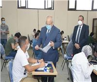 صور  جامعة القاهرة تتابع سير الامتحانات لحظة بلحظة من خلال غرفة العمليات الإلكترونية