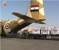 طائرة مساعدات مصرية جديدة تتجه إلي لبنان
