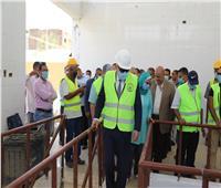 محافظ قنا يشهد بدء التشغيل التجريبي لمشروع الصرف الصحي بمدينة نقادة