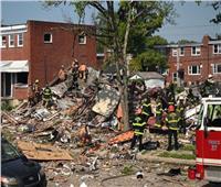 فيديو وصور انفجار بالتيمور..الغاز يتسبب في هدم ثلاثة منازل على الأقل ومقتل امرأة