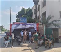 صو  فتح لجان التصويت أمام الناخبين في انتخابات الشيوخ بمصر القديمة