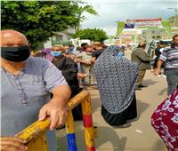 توافد المواطنين على اللجان الانتخابية بدمياط