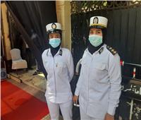 الشرطة النسائية تشارك في تأمين انتخابات الشيوخ بلجان قصر الدوبارة