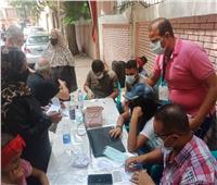 شباب مستقبل وطن يساعدون المواطنين لمعرفة لجنتهم بباب الشعرية