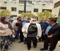 مجلس الشيوخ 2020| رئيس جامعة قناة السويس تدلي بصوتها في لجنة فاطمة الزهراء