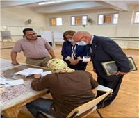 رئيس بعثة جامعة الدول العربية لمتابعة انتخابات مجلس الشيوخ يتفقد لجان القاهرة