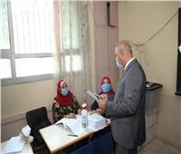 خضع لكشف حراري قبل التصويت.. كامل الوزير ينتخب لمجلس الشيوخ بالتجمع (صور)