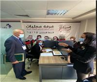 رئيس بعثة جامعة الدول العربية لمتابعة انتخابات الشيوخ يلتقي مايا مرسي
